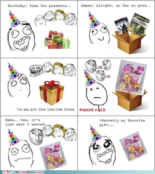 best of week birthday gag gift Party presents Rage Comics video games - 5319365376