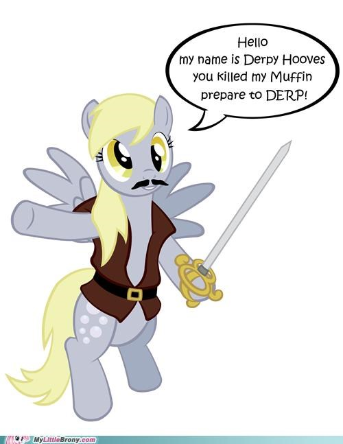 derpy hooves ditzy doo muffin Pirate ponies prepare to derp - 5319834112
