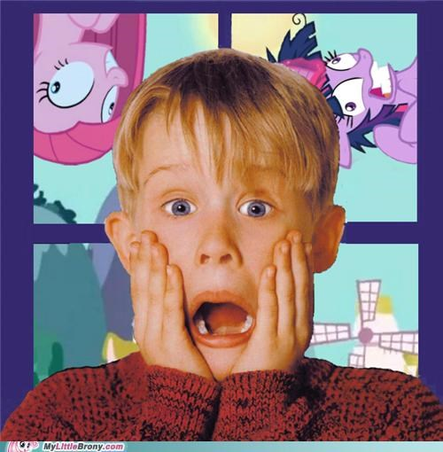 ahhhhhh crossover Home Alone Movie pinkie pie twilight sparkle woof - 5319930880