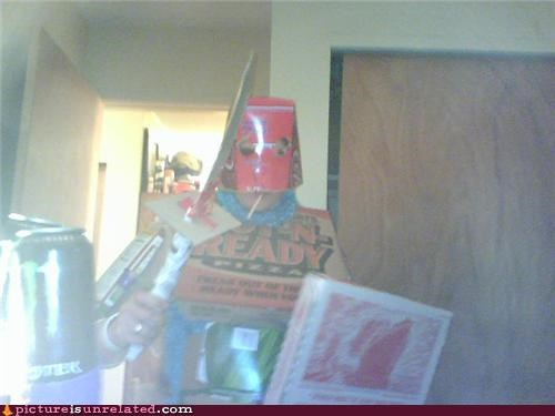 costume,knight,pizza,wtf