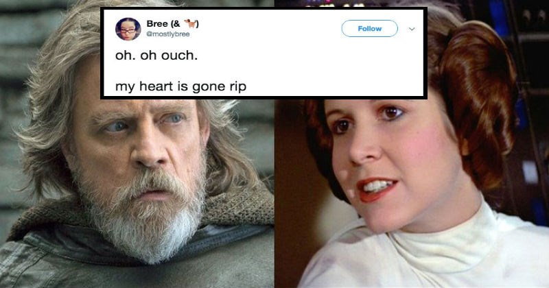 Twitter thread that reveals a heart-wrenching detail about 'The Last Jedi'