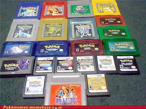collection gameboy gameboy advance gameboy color handhelds nintendo ds Pokémon toys-games - 5320710400