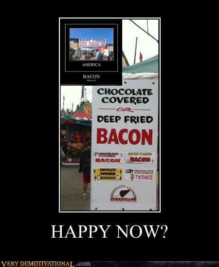america bacon food fried hilarious - 5321139712