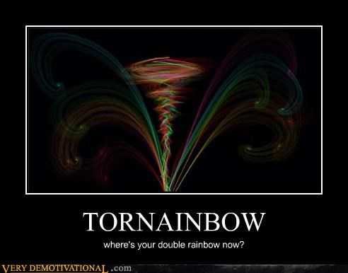 double,hilarious,light,rainbow,tornado