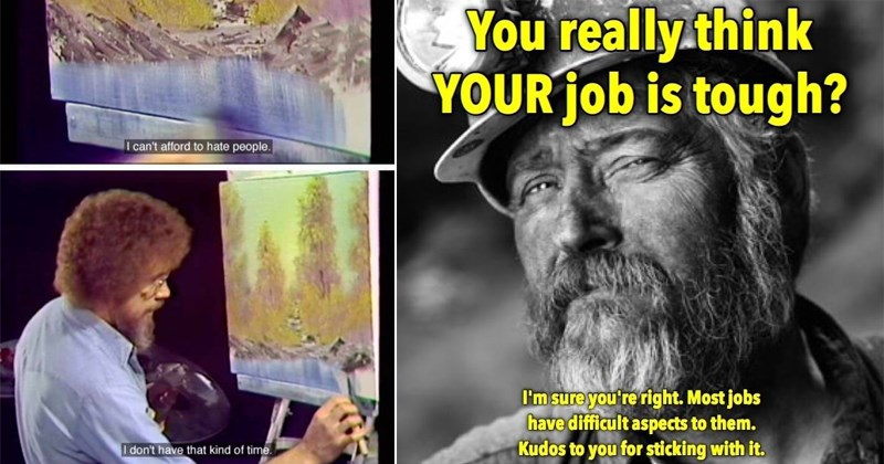 friendship wholesome dogs Memes bob ross happy Cats animals - 5321221