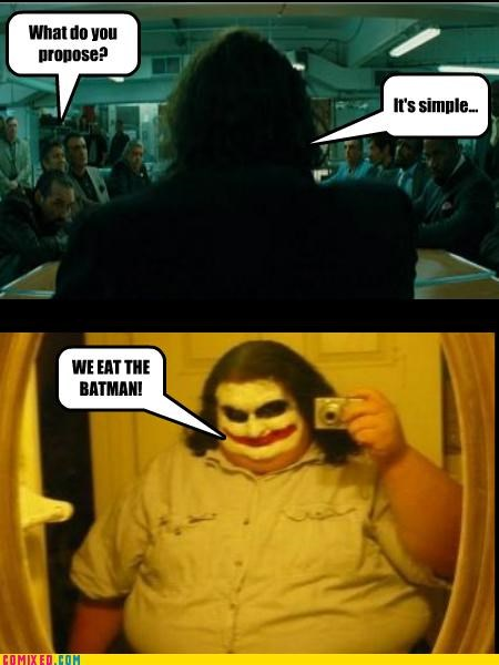 batman best of week fat From the Movies proposal simple the joker what do you propose - 5321313792