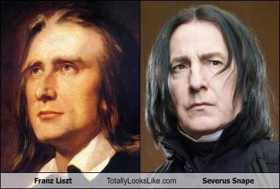 Franz Liszt,funny,Severus Snape,TLL