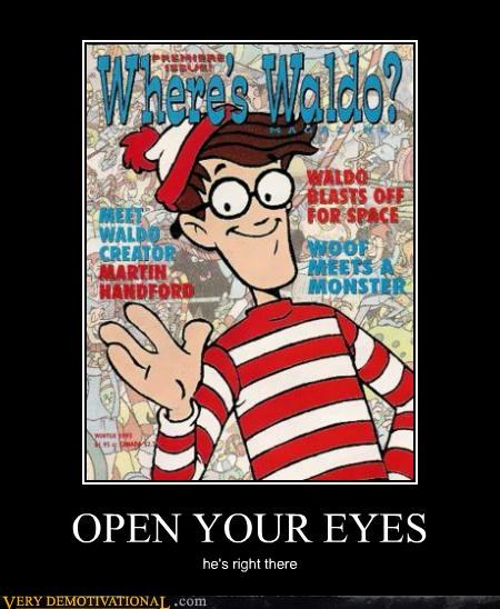 awesome book hilarious waldo wtf