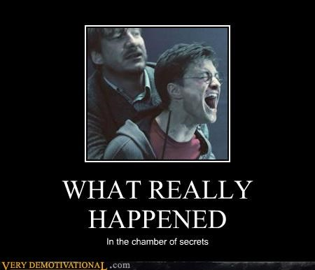 chamber of secrets,Harry Potter,hilarious,surprise