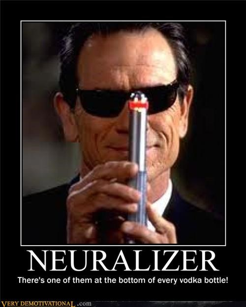 booze hilarious MIB neuralizer vodka - 5322434304