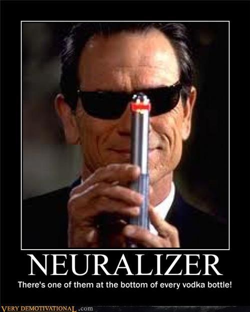 booze hilarious MIB neuralizer vodka - 5322434304