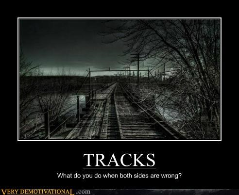 railroad scary Terrifying tracks wrong - 5322666752