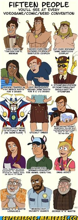 Awesome Art comic con nerds truth - 5322765312