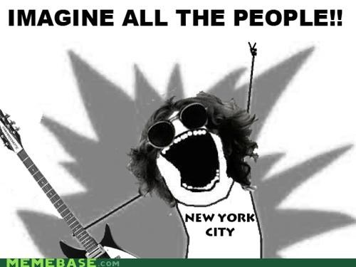 all the things,beatles,imagine,john lennon,lyrics,new york city,people