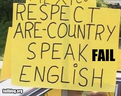 classic english failboat politics signs stupidity - 5323079168
