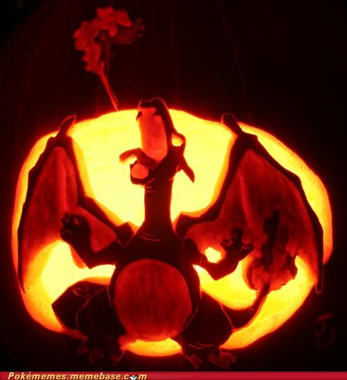 art,awesome,best of week,carving,charizard,halloween,jack o lanterns,pokeween,pumpkins