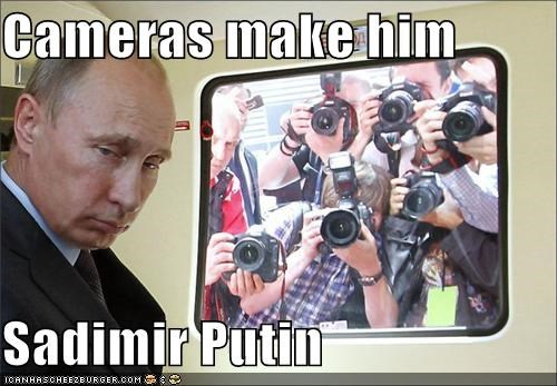 political pictures puns Vladimir Putin wordplay