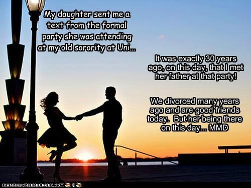 dad,daughter,formal,friends,Party,sorority,story,text,win