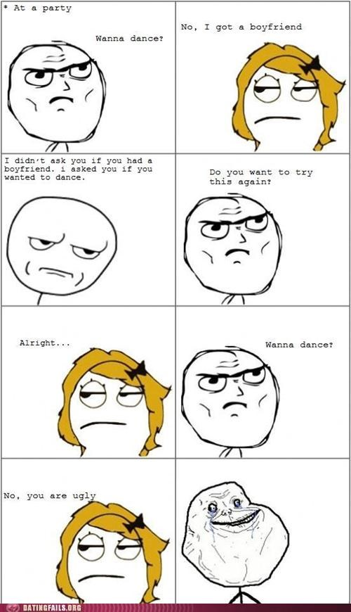 boyfriend comic dance rage comic ugly We Are Dating - 5323245056