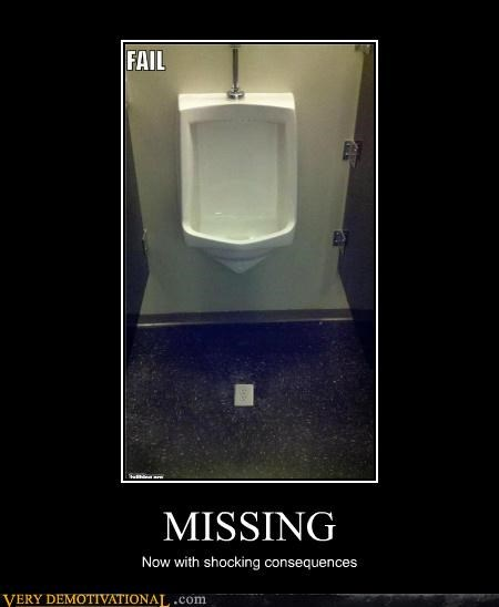 bad idea electrical outlet hilarious missing urinal