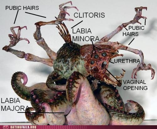 anatomy clit monster vag vagina We Are Dating