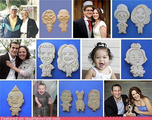 art cookies custom epicute made to order portraits - 5323345664