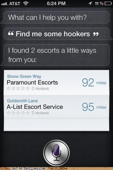 escorts,iphone,siri