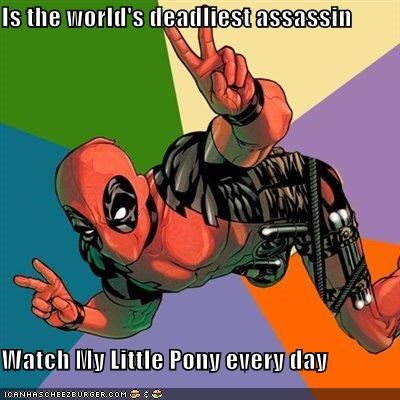 assassin deadpool my little pony Super-Lols - 5323564032