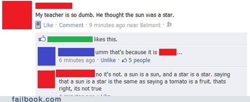 school science star stupid sun - 5323619584
