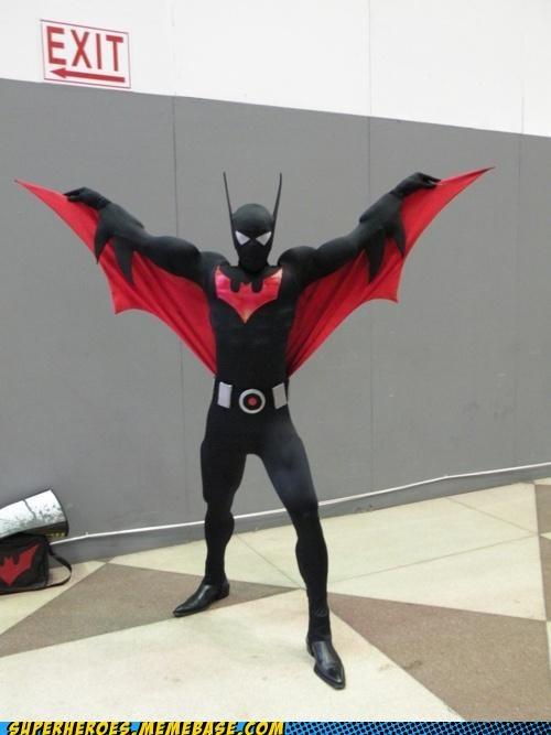 batman cartoons costume future Super Costume - 5323658752