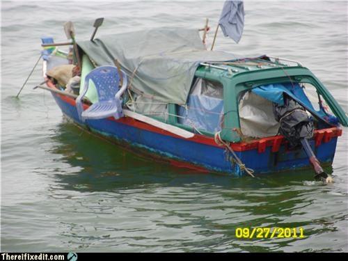 boat gross messy wtf