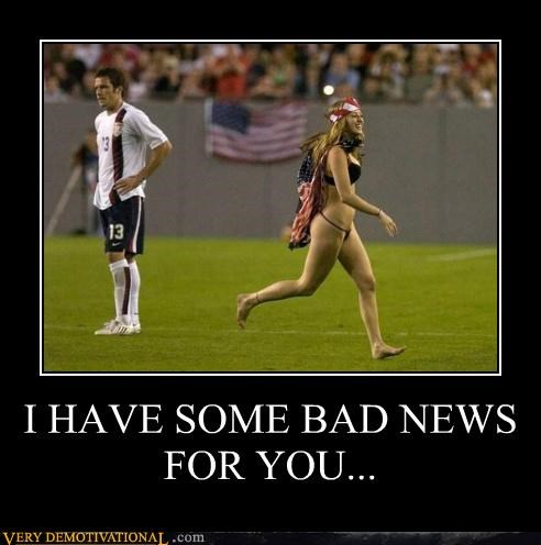 bad news,hilarious,soccer,sports,streaker,test