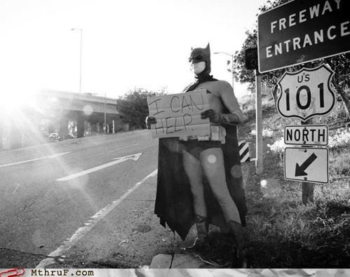 batman,comic book,job,sign,super hero,unemployed,work
