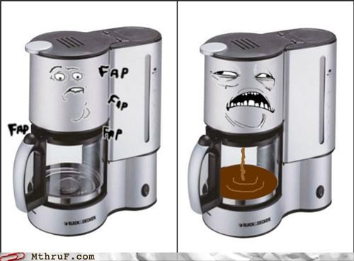 coffee coffee machine comic meme rage comic sexy alone times - 5323851008
