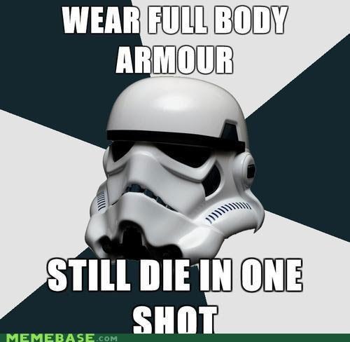 armor Memes shot Star Trek star wars stormtrooper - 5323892992