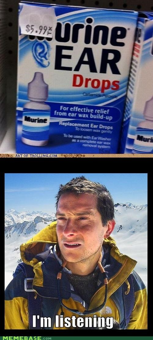 bear grylls clean drops ears urine - 5323947520