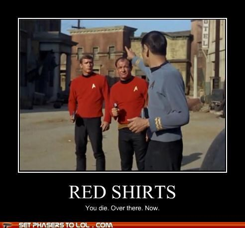die Leonard Nimoy red shirt Spock Star Trek - 5324112640