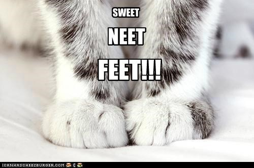 SWEET NEET FEET!!!