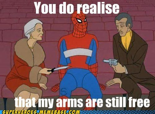 bad idea,kidnapping,Spider-Man,Super-Lols