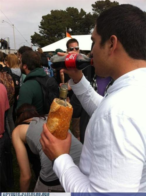 beer,koozie,bread,funny