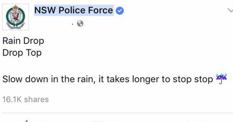 humor facebook social media funny police - 5324293