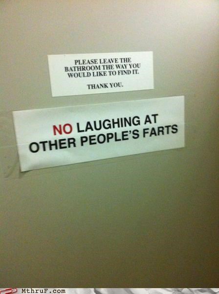 bathroom,courtesy,fart,pootimes,sign,toot,warning