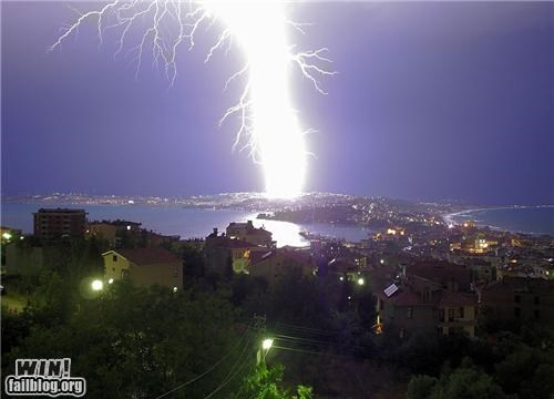 Brother Nature FTW city classic krakoom lightning mother nature ftw nature storm town - 5324774912
