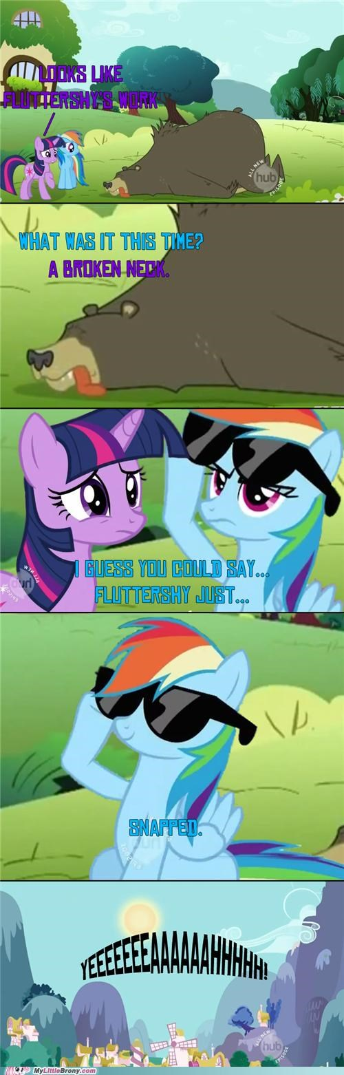 best of week broken neck comics csi Deal With It fluttershy rainbow dash snapped