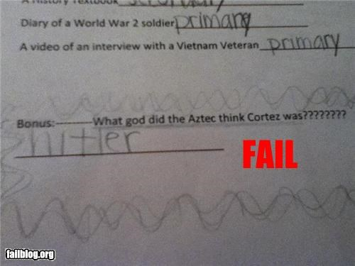 failboat,g rated,history,hitler,school,stupid kids,test