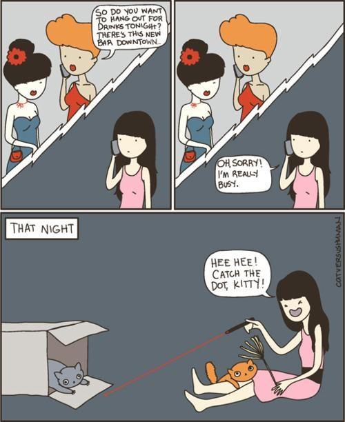 cat versus human,Webcomic