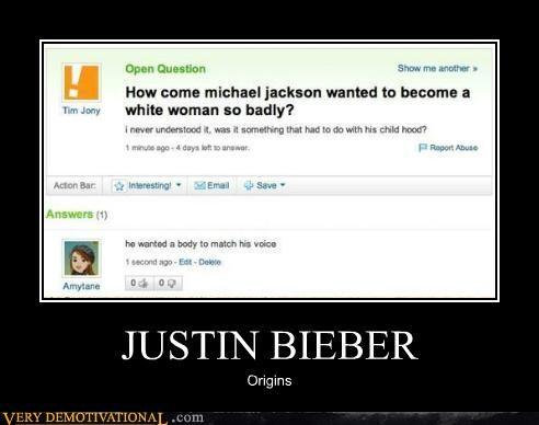 hilarious justin bieber michael jackson origins - 5325653504