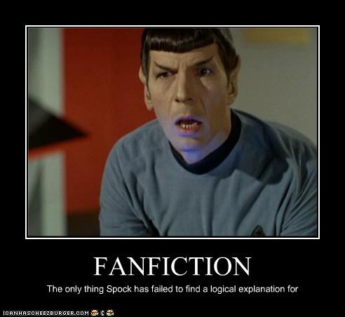 fanfiction Leonard Nimoy logic Spock Star Trek Vulcan - 5326326784
