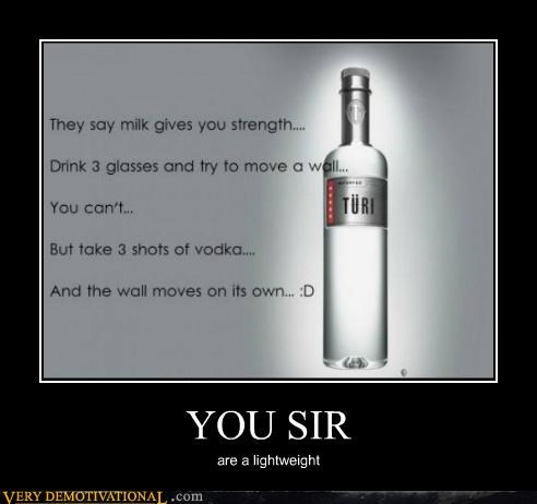 booze drunk hilarious lightweight milk vodka - 5326514688