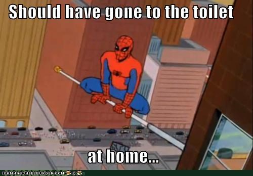 poop,Spider-Man,Super-Lols,traffic